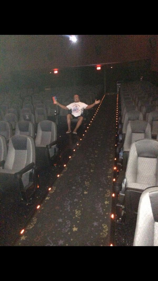 Me and all my friends at the 10pm Ninga Turtle movie brother HH