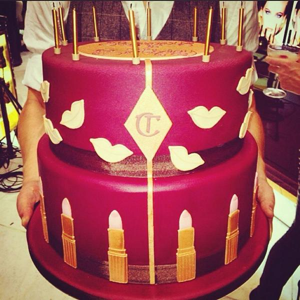 Charlotte Tilbury On Twitter My Delicious Birthday Cake Made For