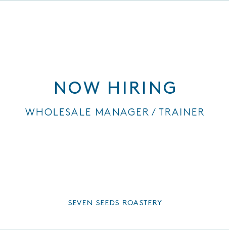 Exciting job opening in the roastery as Wholesale Manager / Trainer - apply via seek. http://t.co/6pC5aBkPmL http://t.co/XoVS1QZ67d