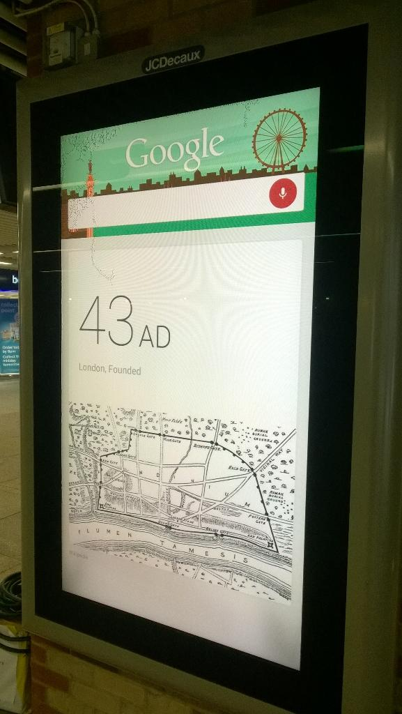 RT @wobblyclark: I am loving this Google Outside 2.0 #OOH campaign @TalonOOH @OMD_UK Video here http://t.co/wYTiylqwQQ http://t.co/RzglEmzU…