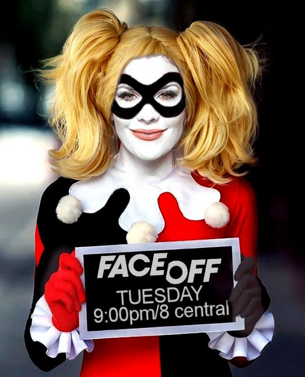 Coolest. #Batman. #Cosplay. Ever. RT @Brandtkofton: @mckenziewestmor @Syfy @FaceOffSyfy #FaceOff http://t.co/Xgtnazq1ZS