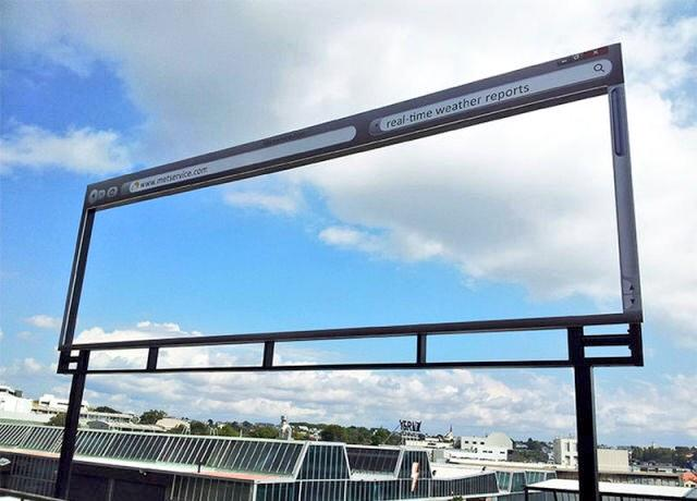 RT @Amscreen_Simon: The Met office #advertising Real Time Weather http://t.co/4TRQV4Glpo