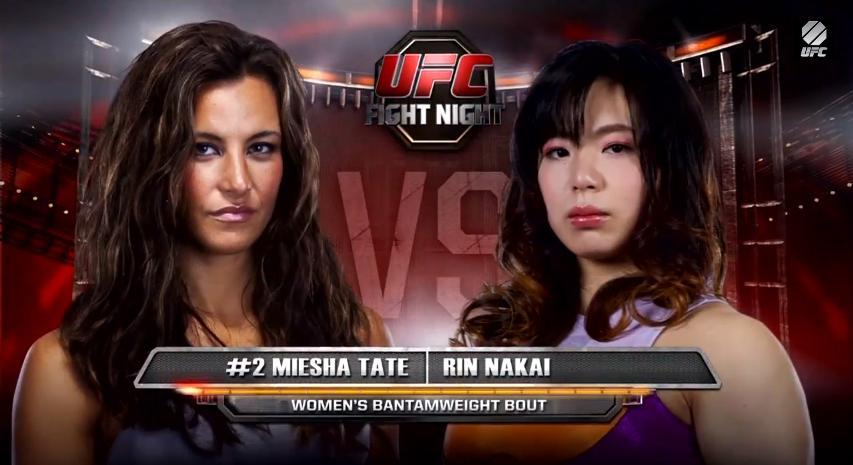 "ArmbarNation on Twitter: ""Rin Nakai vs Miesha Tate @UFC # ..."