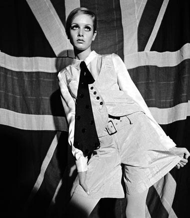 """Lesley Hornby Twiggy, modella incoronata """"volto del '66"""" dal Daily Express"""