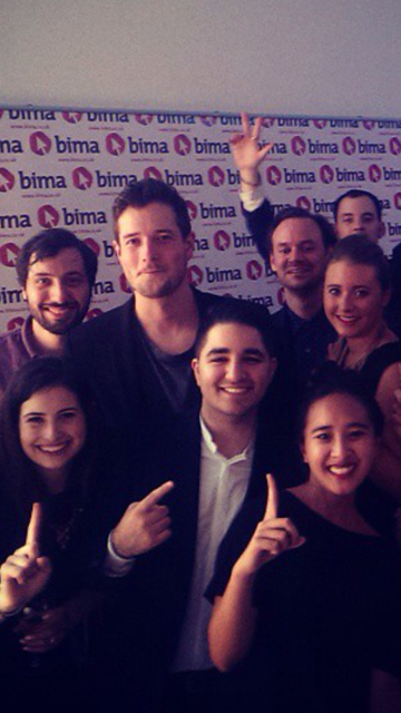 The happy feel good vibes are flowing around the office after last night's #BIMAAwards success! http://t.co/awdsQ8TWNn