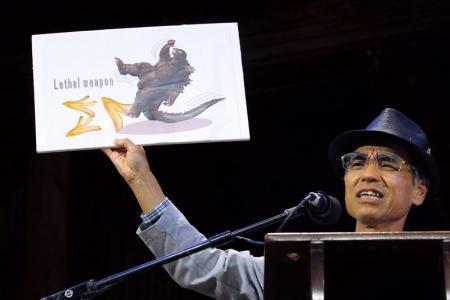 「バナナの滑りやすさ」実証、北里大の教授らにイグ・ノーベル賞  http://t.co/WTXGWew0a9 http://t.co/4zB1IsPVY0