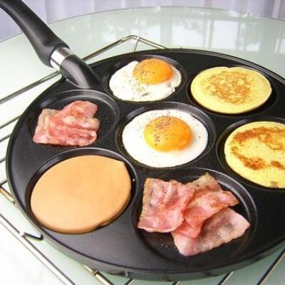 忙しい朝に!最大7つ同時に焼ける「パンケーキパン」が便利♫ -  http://t.co/mrsguyKW4z http://t.co/uUWtPveiRg