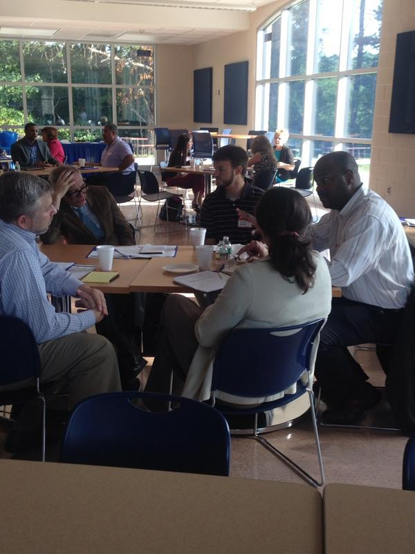 Small group discussion surrounding student skills in #mathematics @RowanCollegeGlouster #commoncore http://t.co/gf6sFpCjIH