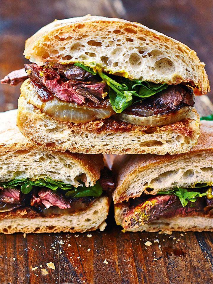 #recipeoftheday Next-level steak & onion sandwich a guilty pleasure! http://t.co/VVMNnfpTa9 #ComfortFood http://t.co/HJEbUkr7FH