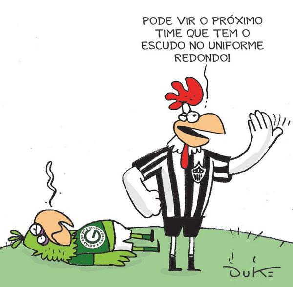 Se o Galão da Massa é quem vai bicar o Cruzeiro no domingo, dê RT e mostre quem canta alto. #BicaGalo #Euacredito http://t.co/QWOe4HYK6k
