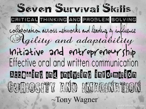"""""""@DIGuate: DI = 7 Survival Skills in 1 ENGAGING program! Via @DrTonyWagner  #iamdi http://t.co/bG3iFnc6uk"""" #edl630book"""
