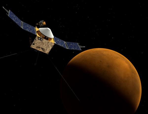 SUNDAY: Mars! #MAVEN will arrive at the Red Planet Sept 21. #FF @MAVEN2Mars for updates. go.nasa.gov/1uOeHF2   pic.twitter.com/xHyhs8UhqH