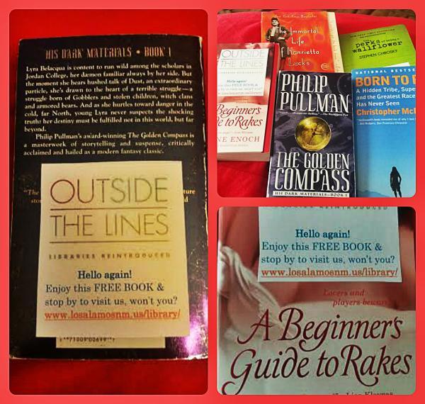 Step 1: raid Friends bookstore Step 2: sticker books  Step 3: leave FREE BOOKS all over town. #getOTL @GetOTL http://t.co/JwcPEVTZ4N