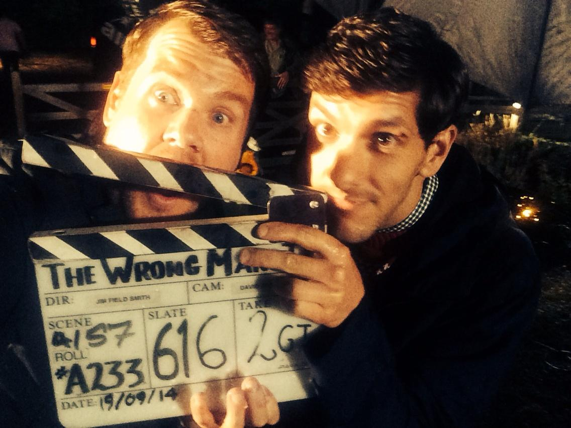 RT @JKCorden: And that is a wrap on The Wrong Mans 2! See you at Christmas on BBC2! http://t.co/sBxAyXItHi