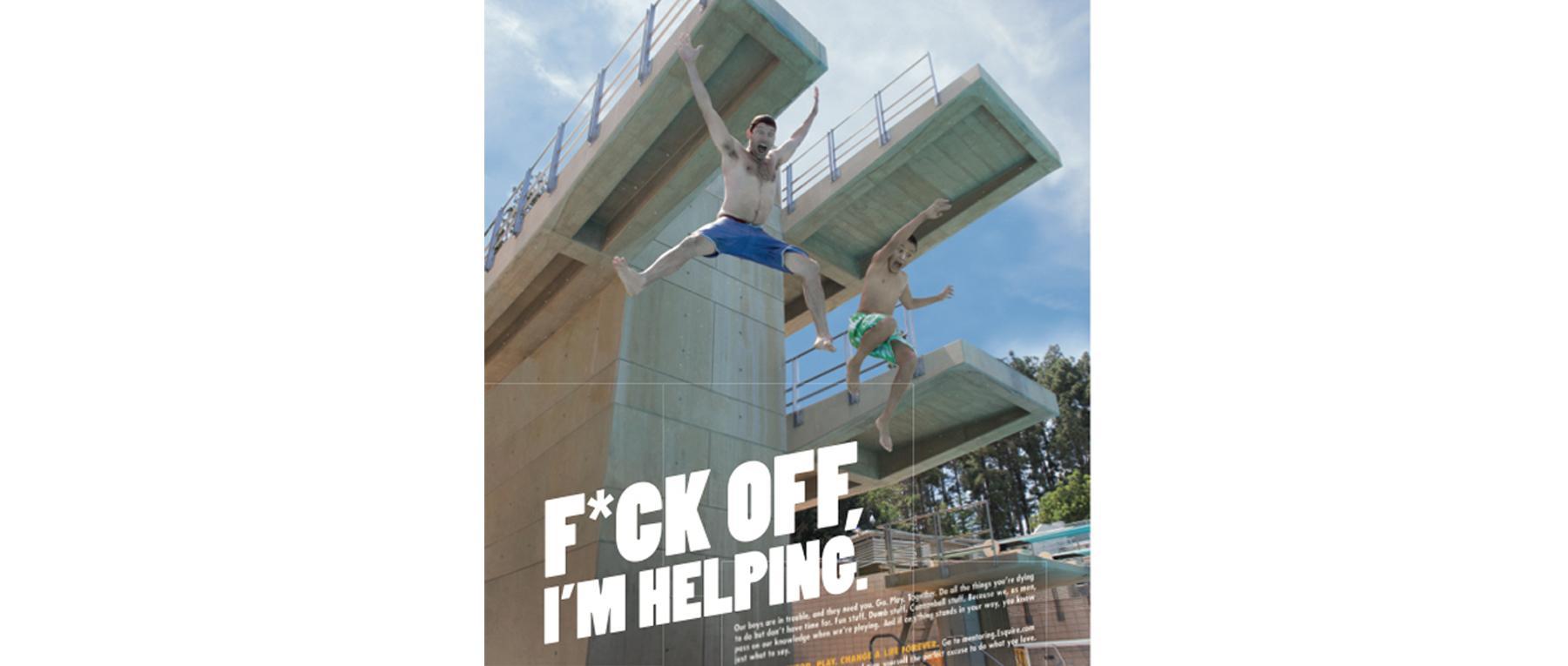 Mentoring gets a new tagline: F*ck Off, I'm Helping  http://t.co/L0XMcRmyfj http://t.co/qGhDNfc09G