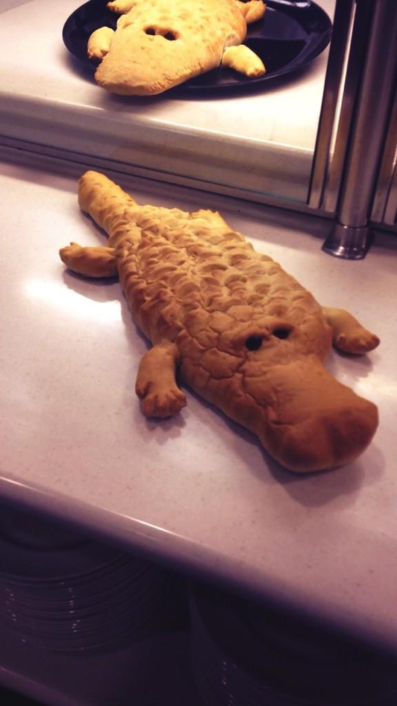 #UAdininghalls served gator bread this week!! #BeatFlorida #UAgameday http://t.co/dRSvnmdOUY