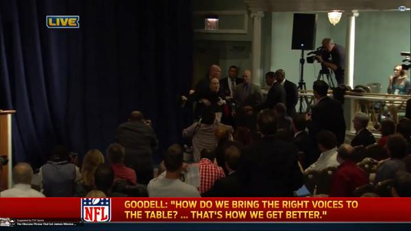 Benjy Bronk of Howard Stern show mocks Goodell Don't put me in a elevator (Video)
