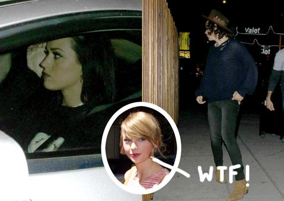 EXCLUSIVE! #KatyPerry & #HarryStyles spotted leaving their potential dinner date in LA! http://t.co/5kRdKB5r8e http://t.co/JiunafX4K5