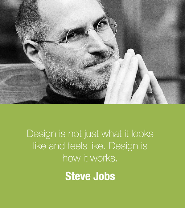 Entrepreneur Quotes On Twitter Design Is Not Just What It Looks