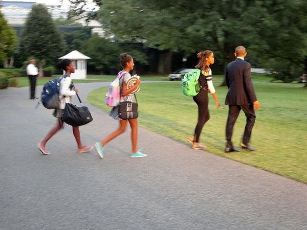 Lazy Obama on vacation again at Camp David
