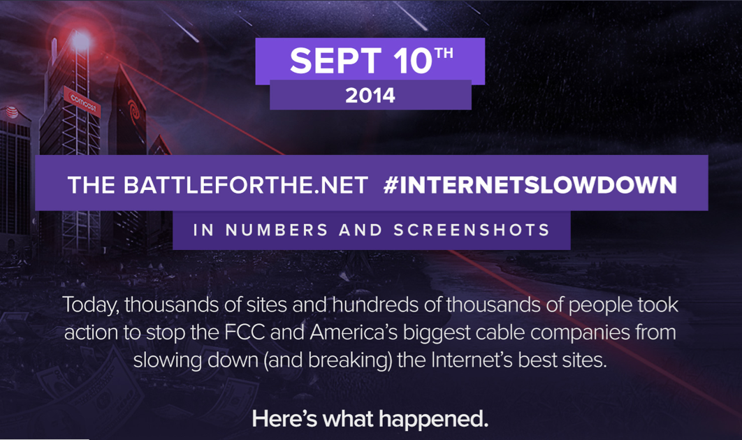 RT @YourAnonNews: ICYMI: #InternetSlowdown: more people took action for #netneutrality than ever in history. http://t.co/KqkBStuf3N http://…