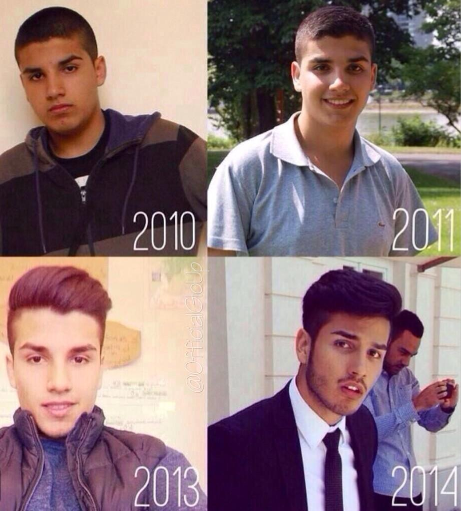 THE GLO UP IS REAL