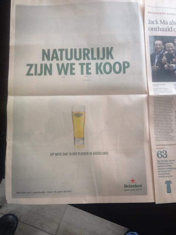 Redelijk geniale inhaler van Heineken in het FD. http://t.co/2LdK7XUrc5