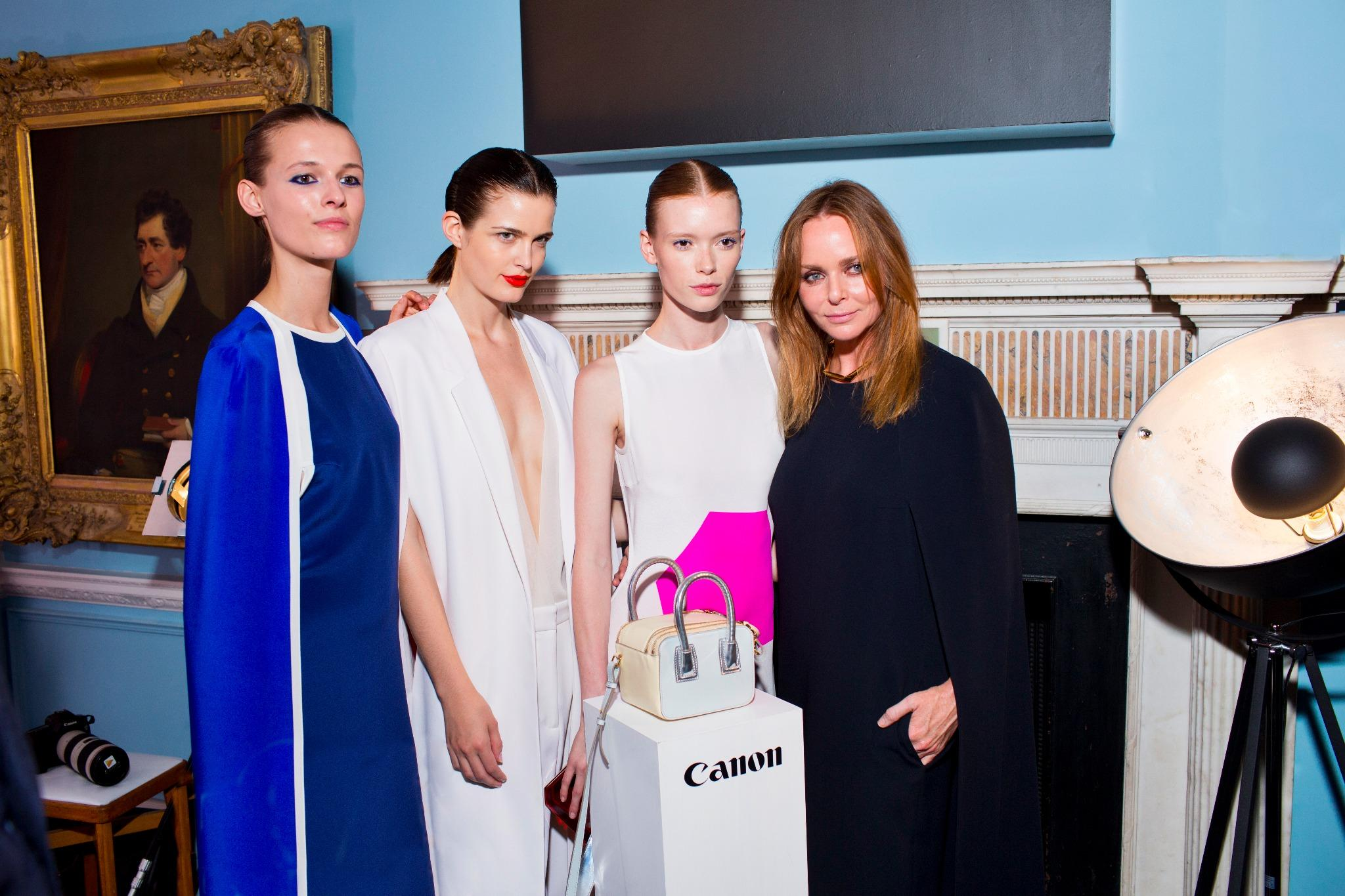 RT @CanonUKandIE: Our @StellaMcCartney collaboration, announced at her 2014 London Green Carpet Collection event, here's how it looked http…