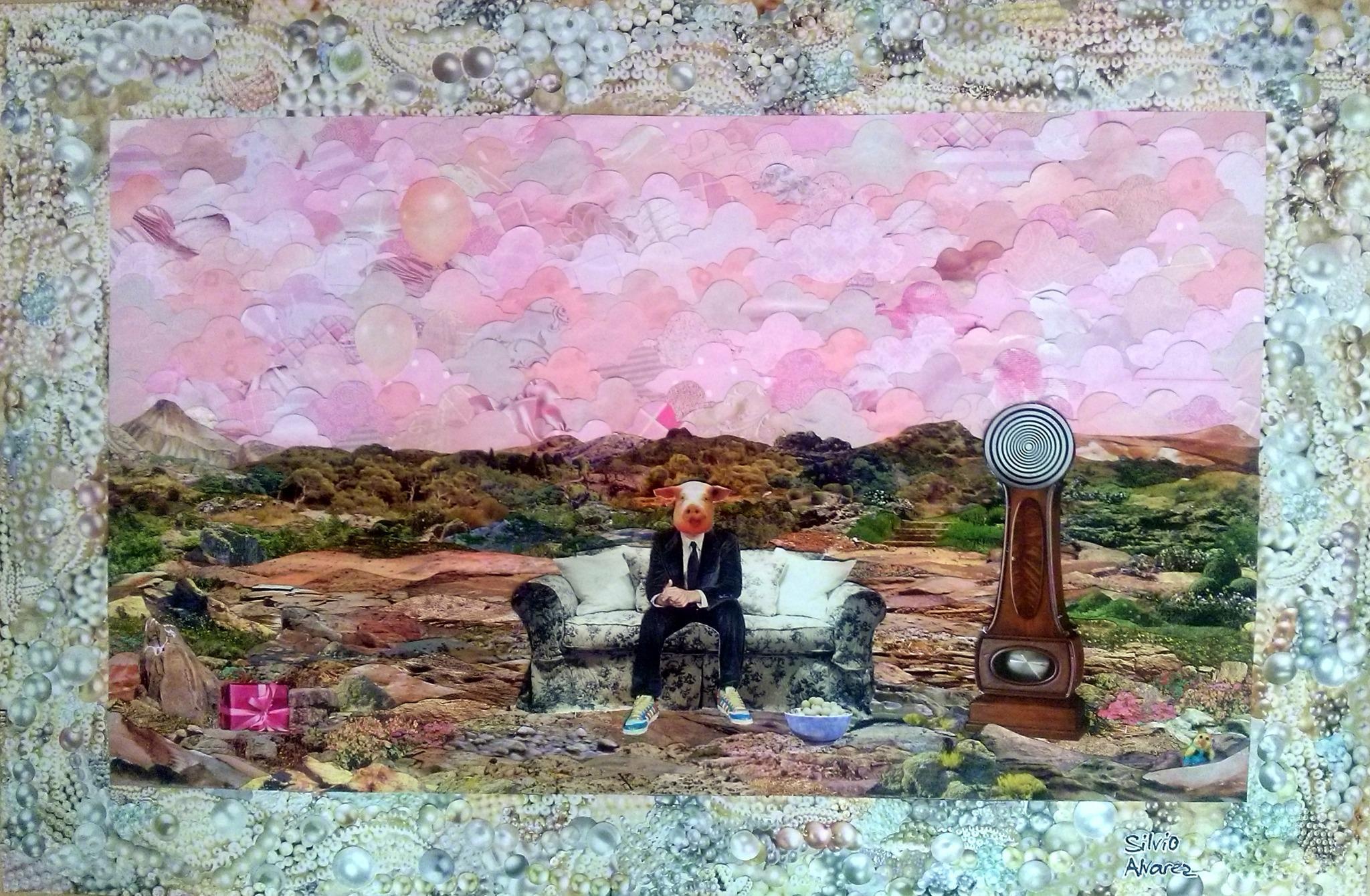 A exposição Colagens de Silvio Alvarez - Conjunto Nacional está chegando! de 12 a 25 de outubro http://t.co/RD0RbZQTyW