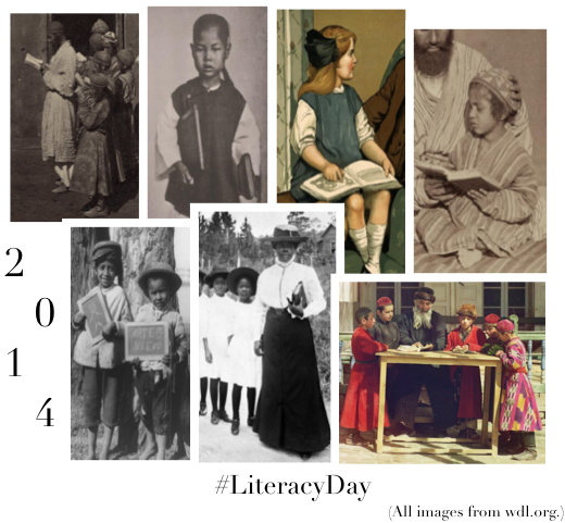 Today, September 8, is International #LiteracyDay! Please spread the word! (cc @UNESCO) http://t.co/2dbBHEFu2l