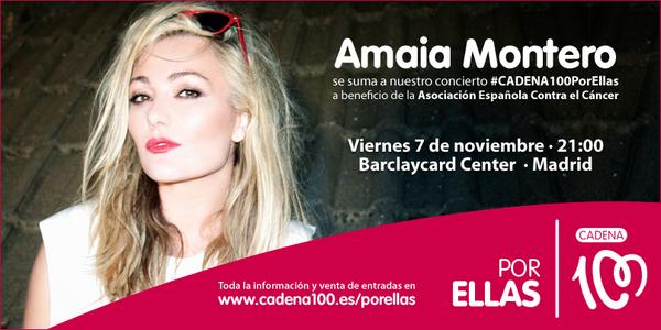 """Amaia Montero en """"CADENA 100 por ellas"""" concierto solidario (7/11/14) BxApgXSIIAAKSBk"""