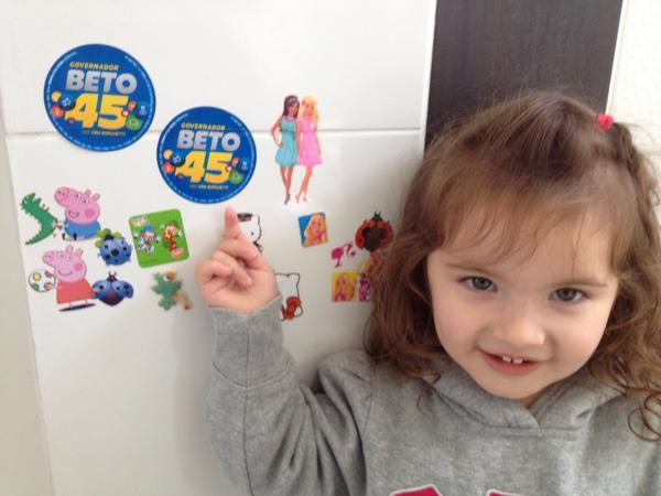 Betina escolheu seu candidato! @BetoRicha http://t.co/Egn3JJIroR