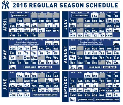 picture relating to Yankees Printable Schedule titled Contemporary York Yankees upon Twitter: \