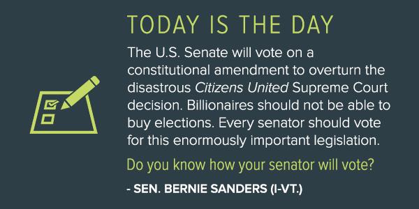 The Threat to American Democracy - Sen. Sanders & @SenatorTomUdall, @Politico: http://t.co/sjnbcUSEt3 http://t.co/qvumOfqYVi