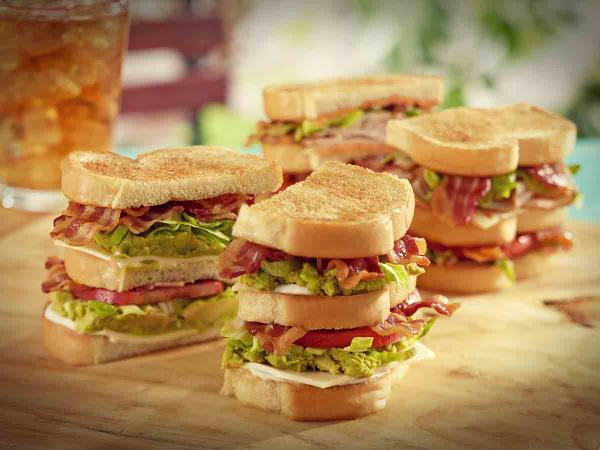 New Club Sandwiches are here! Spicy Turkey Club, Bacon Avocado Club ...