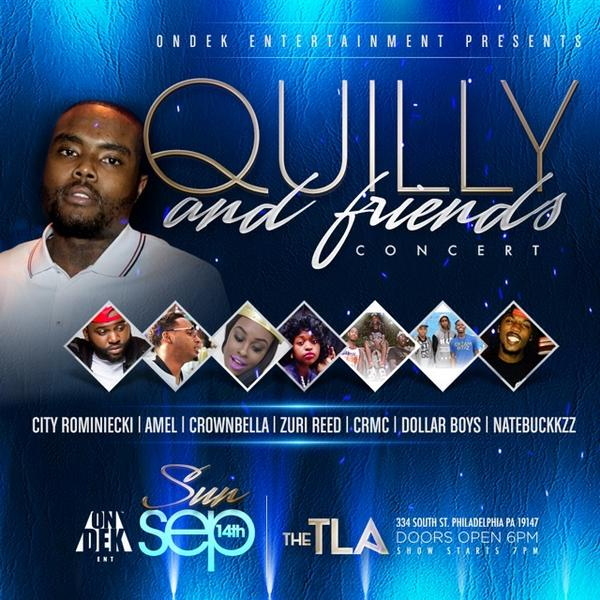 Sep 14 @therealQuilly & @DOLLARBOYZ - @TLAPhilly + #CRMC @fatscr @barzykingg http://t.co/3N8QDUAYXq http://t.co/mwqDQwkGZO