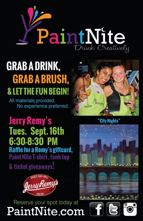 Our 1st #paintnite 9/16!  Sign up today at http://t.co/v4zQGxbxpk #Painting #Drinking #Prizes http://t.co/JhOLzAP5pa