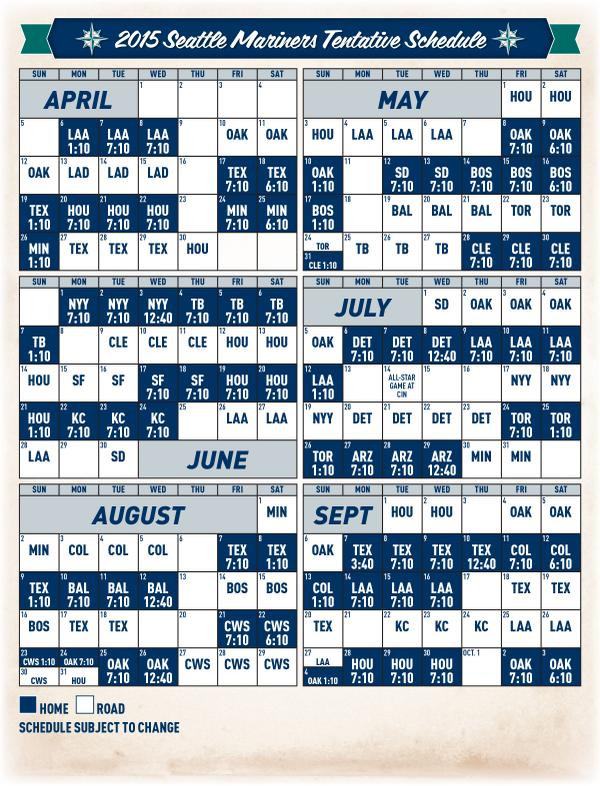 image relating to Kc Royals Schedule Printable referred to as Seattle Mariners upon Twitter: \