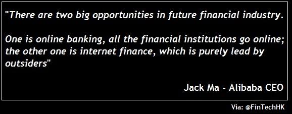 Fintech Hk On Twitter Wise Words From Jack Ma Ceo Of Alibaba