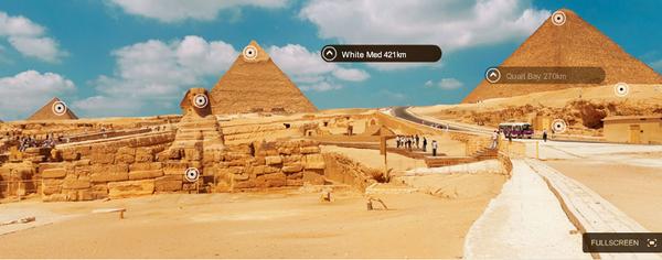 Explore the Giza Pyramids in virtual reality: http://t.co/duNpazeJ9I  #3D #pyramids #giza  #egypt #virtual #tour http://t.co/pECvZLXhcU