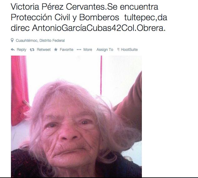 RT @Monicucha: RT @AlertaPlateada: Victoria P?rez Cervantes est? extraviada y busca a su familia ?La reconoces? http://t.co/egjEGi3Ys5 / @M?