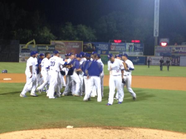 FINAL: Lookouts 7, Stars 6. Your Lookouts are North Division Champs and advance to the Southern League Championship! http://t.co/XyCGpWF9h9