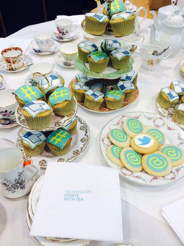 Technology starts with tea (and cake). The fun's about to start at our #TechyTeaParty once the tea's brewed!  http://t.co/wRimKRBzGC