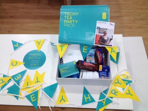 We're looking forward to the @EE #TechyTeaParty in stores today! Check out the boxes we created for the attendees http://t.co/B1MpOkhwAY