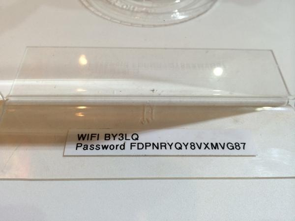 Nothing makes me happier than a wifi network w a password that's easy to remember. http://t.co/TQgmGXXsol