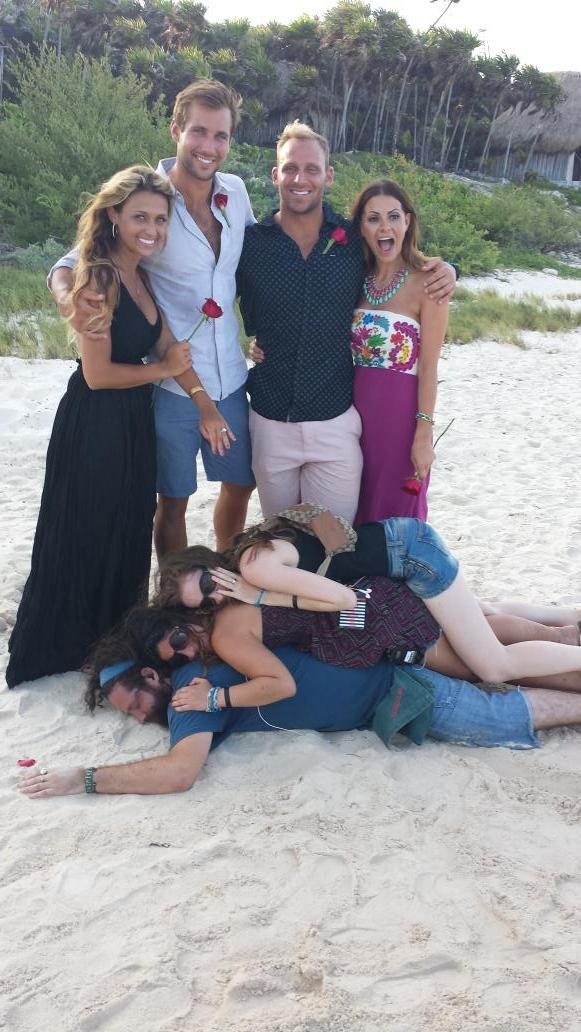 One more crazy #BachelorInParadise behind the scenes pic @MoneyMichelle @cody_sattler @LacyFaddoul @marcusgrodd http://t.co/flvr7PsGk8