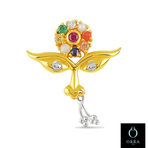 Orra jewellery on twitter this 22kt gold pendant has the eyes of orra jewellery on twitter this 22kt gold pendant has the eyes of goddess durga gleaming with diamonds while forehead is adorned with navratna mozeypictures Image collections