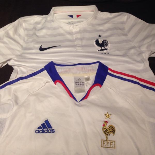 フランス代表 ユニフォーム 歴代