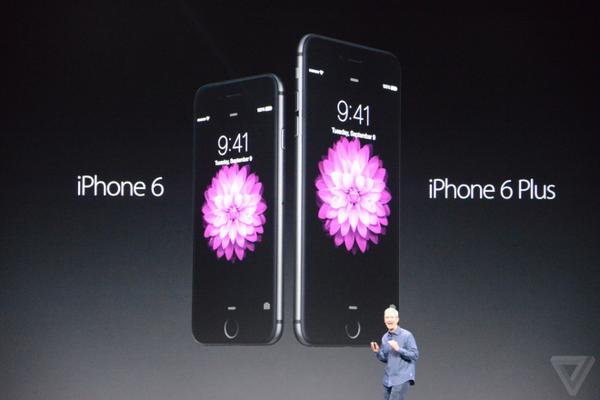 Apple представляет iPhone 6 и iPhone 6 Plus. http://t.co/E1n4DvZrM8