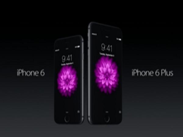 Here they are: The iPhone 6 and the iPhone 6 Plus: #AppleLive http://t.co/XrIiHBZiOx
